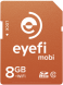 Eyefi Mobi 8GB WiFi SDHC +FREE 90T Cloud_1