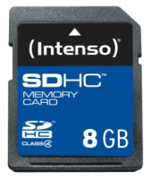 Intenso SD Card 8GB Class 4