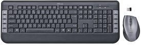 Trust Tecla Wireless Multimedia Keyboard & Mouse DE