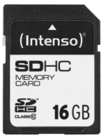 Intenso SD Card 16GB Class 10
