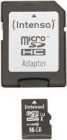 Intenso Micro SD Card 16GB UHS-I inkl. SD Adapter