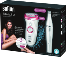Braun Personal Care Silk-epil 9-538 Legs, Body & Face wet&dry + Face Epilierer