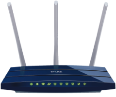 TP-Link TL-WR1043ND WLAN Router 450Mbit/s