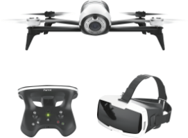 Parrot Bebop 2 inkl. FirstPersonView Brille + Skycontroller 2