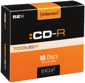 CD-R 700MB 10er Slimcase