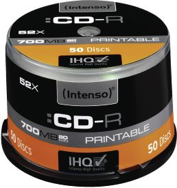 CD-R 700MB 50er Spindel Printable
