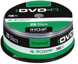 DVD-R 4,7GB 25er Spindel 16x
