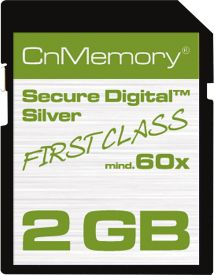 2GB SecureDigital Card HighSpeed 60x