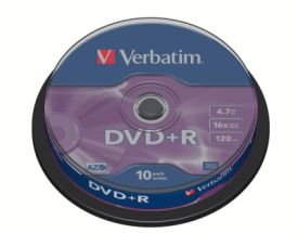 DVD+R 4,7GB 16X 10er SP