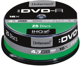 DVD-R 4,7GB 25er Spindel Printable