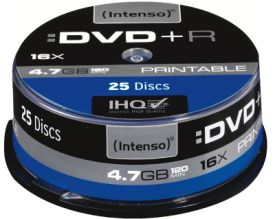 DVD+R 4,7GB 25er Spindel Printable