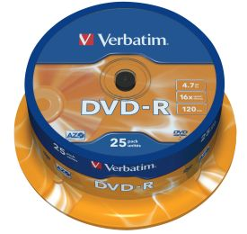 DVD-R 4,7GB 16X 25er SP