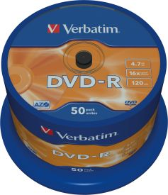 DVD-R 4,7GB 16X 50er SP