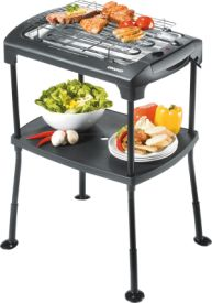 58550 Barbecue Black Rack
