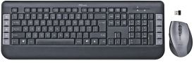 Tecla Wireless Multimedia Keyboard & Mouse DE