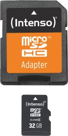 Micro SD Card 32GB Class 4 inkl. SD Adapter