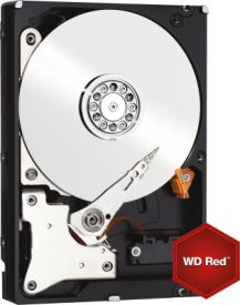 WD Red SATA 3TB/64MB - Intellipower