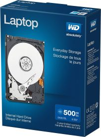 WD Blue Laptop 500GB Retail