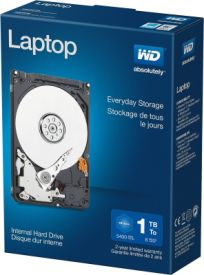 WD Blue Laptop 1TB Retail
