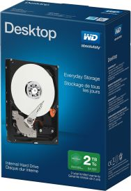WD Blue Desktop 2TB Retail Kit
