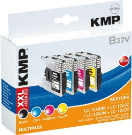 B37V Multipack OEM Brother LC-1240 BK/C/M/Y