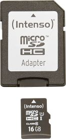 Micro SD Card 16GB UHS-I inkl. SD Adapter