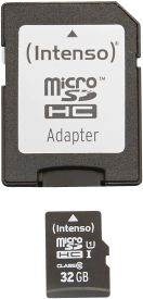 Micro SD Card 32GB UHS-I inkl. SD Adapter