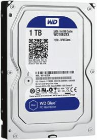 WD10EZEX Interne HDD 1TB, 3,5 Zoll, 16mb blue