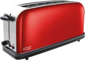 Colours Plus+ Flame Red Langschlitz-Toaster