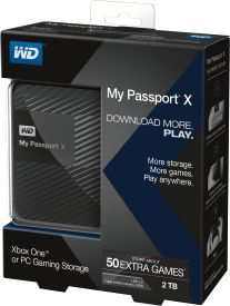 My Passport X 2TB USB 3.0 Gaming for Xbox One & PC