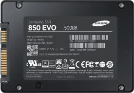 SSD 850 EVO 500 GB Starter Kit