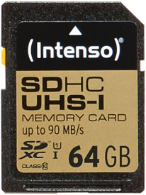 SD Card 64GB UHS-I Professional