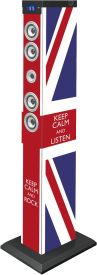 "Sound Tower TW9 - Union Jack ""Keep calm"""