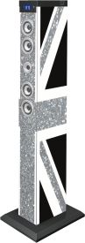 Sound Tower TW9 - Union Jack Glitter