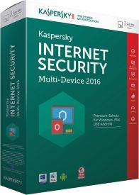 Internet Security 2016 Multi-Device 3 Lizenzen Sierra Box DE