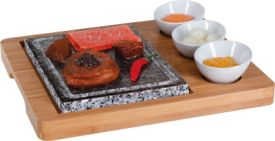 Hot Stone Set 5-teilig Bambus