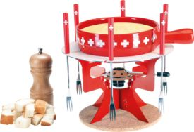 Mini Fondue Bar Swiss