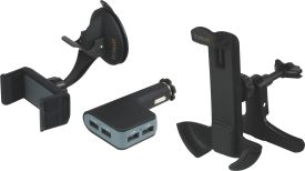 TE08 Smartphone Multi Car Charger Kit