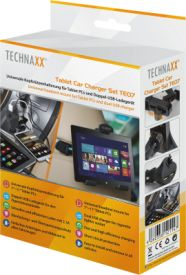 TE07 Tablet Car Charger Set