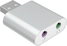 ICY BOX USB 2.0 zu Audio Adapter