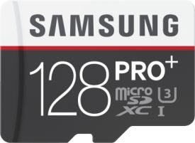 PRO+ 128GB micro SDXC Card 95MB/s + Adapter