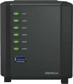 Diskstation DS416 slim ohne HD