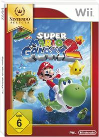 Wii Mario Galaxy 2 Selects