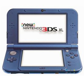New 3DS XL HW Metallic Blue