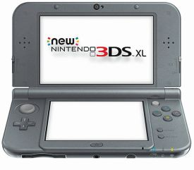 New 3DS XL HW Metallic Black