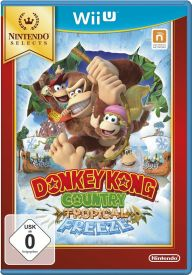 Wii U Donkey Kong Contry: Tropical Freeze Selects