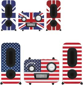 MCD11 MP3-USB Music Center - Flag