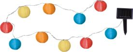 Solar Energy Party Balls Multicolor