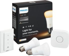 Hue LED E27 2er Starter Set WhiteAmbiance