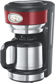 Retro Ribbon Red Thermo-Kaffeemaschine
